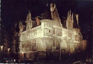 AK-Paris-et-ses-Merveilles-Quartier-du-Marais-lHotel-de-Sens-vu-de-nuit