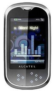 ALCATEL One Touch OT-708 - Silver (Unloc...
