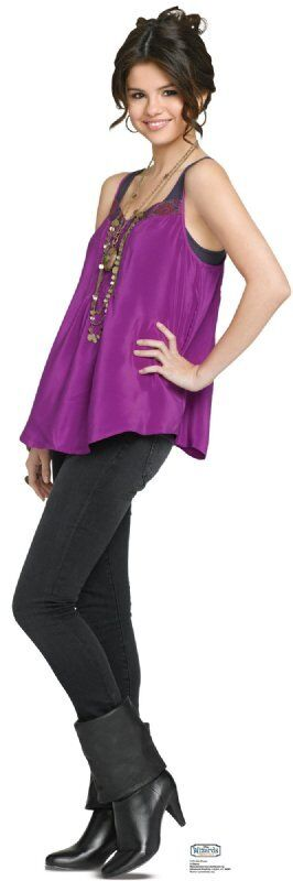 Brand new lifesize (56 tall) standup of SELENA GOMEZ as ALEX RUSSO