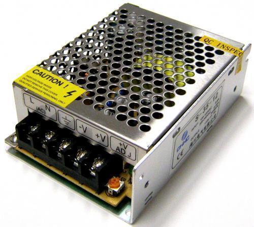 Alimentatore trasformatore stabilizzato switch trimmer for Alimentatori per led