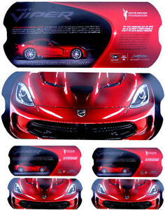 Dodge Viper 2013 on All New 2013 Dodge Viper Srt First Official Factory Brochure Card As