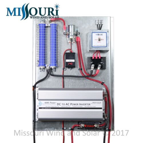 All In One Digital Charge Controller Board 24 Volt Wind