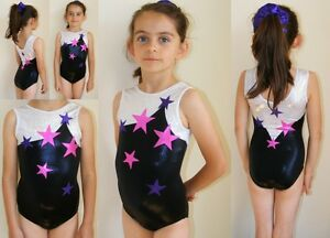 All Sizes 039 Starry Eyed 039 Pink Purple Silver Gymnastics Leotard 24 ...