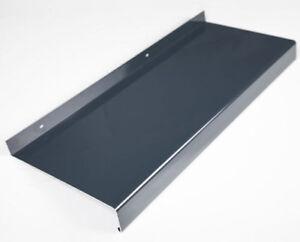aluminium fensterbank anthrazit alle ausladungen auf lager ebay. Black Bedroom Furniture Sets. Home Design Ideas