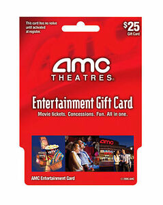 AMC Theatres Gift Card in Gift Cards & Coupons, Gift Cards | eBay