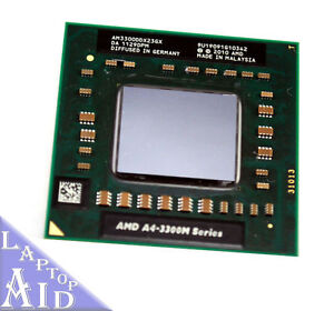 AMD A4-3300M 1.9 GHz Dual-Core (AM3300DD...