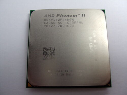 AMD Phenom II X4 945 3 GHz Quad-Core (HDX945WFK4DGM) Processor w / Grease in Computers/Tablets & Networking, Computer Components & Parts, CPUs, Processors | eBay