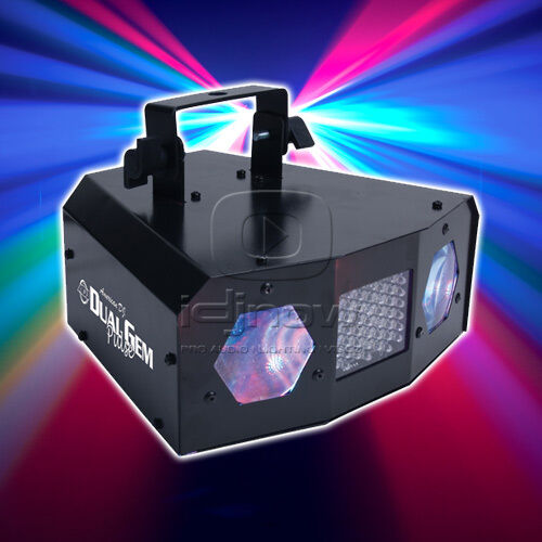 AMERICAN DJ DUALGEM PULSE DUAL GEM LED LIGHTING EFFECT W/ STROBE LIGHT in Musical Instruments & Gear, Stage Lighting & Effects, Stage Lighting: Single Units | eBay