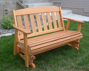 Free Wood Glider Bench Plans