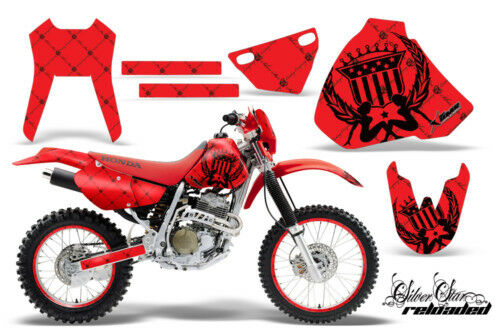 AMR Racing Graphic Decal Kit Honda XR400 XR Backgrounds