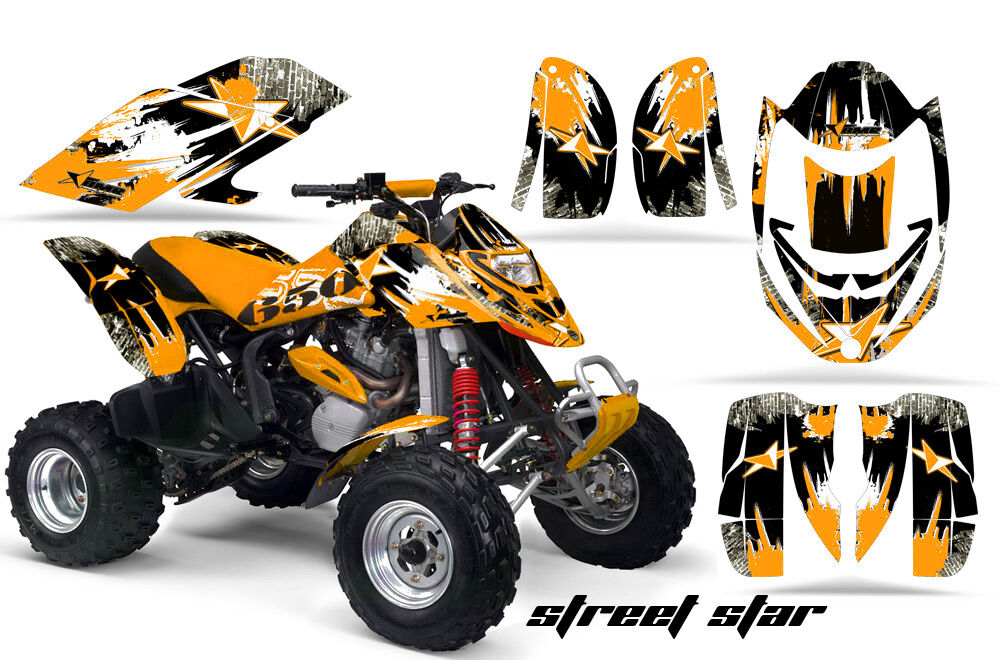 AMR RACING GRAPHICS KIT ATV CANAM BOMBARDIER DS650 DS 650 X STREET