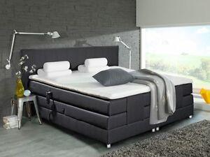 amsterdam elektrisches boxspringbett bett hotelbett 180x200 h3 schwarz elektro ebay. Black Bedroom Furniture Sets. Home Design Ideas