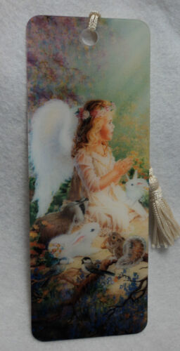 AN Angel's Spirit Angel 3D BOOKMARK made in the USA lenticular action tassel in Books, Accessories, Bookmarks | eBay