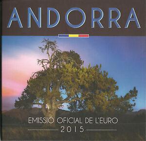ANDORRA-ANDORRE-LEERER-FOLDER-OHNE-1-CENT-2-EURO-KMS-2015-BU-ST