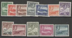 ANTIGUA-SG98-109-1938-51-DEFINITIVE-SET-MTD-MINT