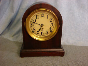 ANTIQUE CLOCK CASE CLEANER DESK FURNITURE UNBELIEVEABLE WORKS GREAT GUARANTEED! in Collectibles, Clocks, Antique (Pre-1930)   eBay