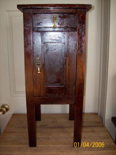 Antique Country Primitive Oak Ice Box All Original Hard