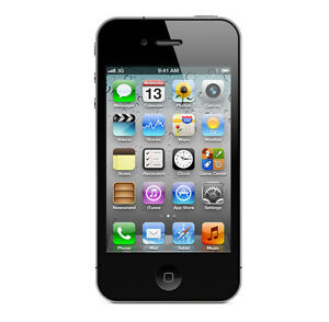 APPLE-IPHONE-4-32GB-SCHWARZ-OHNE-SIMLOCK-OHNE-VERTRAG-TOP-SMARTPHONE