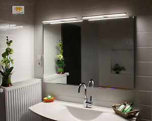 arnota led leucht lampe beleuchteter bad spiegel mit. Black Bedroom Furniture Sets. Home Design Ideas