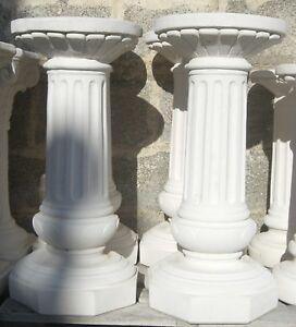 arredo da giardino statua statue coppia colonne h cm 85 ebay
