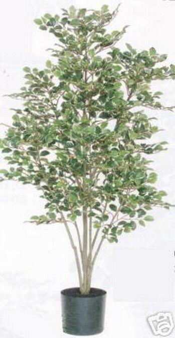 Artificial Birch Tree Silk 5' Home Decor Plant Bush Arrangement Floral Palm Ivy