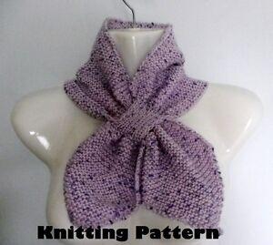 Keyhole Scarf Knit Pattern, Buy Keyhole Scarf Knit Pattern