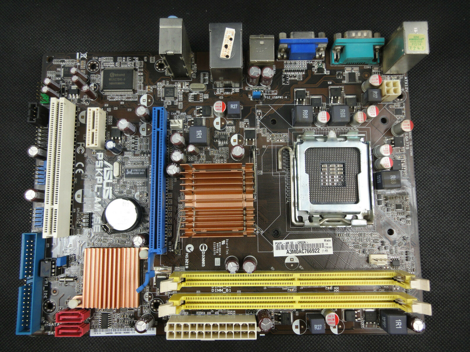 2019 100% original motherboard for asus p5kpl am se ddr2 lga775.