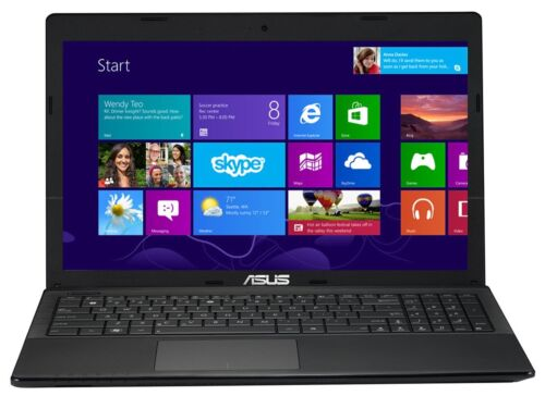 "ASUS X55C 15.6"" 500GB Laptop Notebook PC Windows 8 Home Webcam WI-FI - BLACK in Computers/Tablets & Networking, Laptops & Netbooks, PC Laptops & Netbooks 