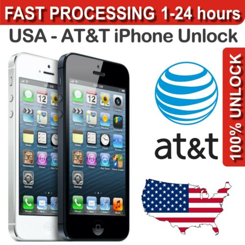 AT&T ATT - iPhone 5 / 4s / 4 / 3Gs / 3G Permanent Factory IMEI unlock in Specialty Services, Other Services | eBay