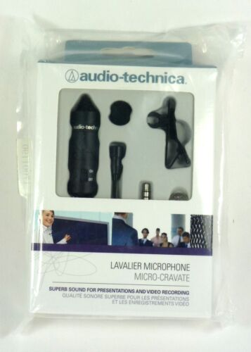 ATR-3350 AUDIO TECHNICA Omnidirectional Condenser Microphone (Lavalier) in Musical Instruments & Gear, Pro Audio Equipment, Microphones | eBay