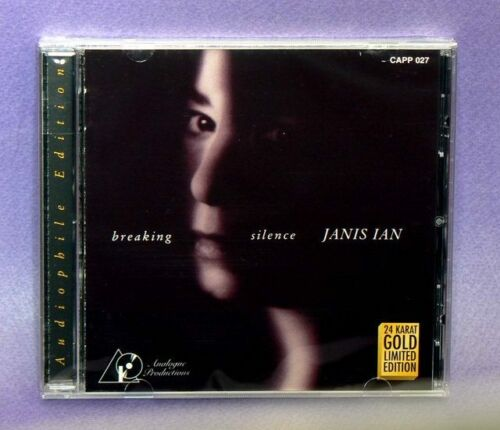 """AUDIOPHILE JANIS IAN """"Breaking Silence"""" Analogue Productions 24K GOLD CD OOP New in Music, CDs 