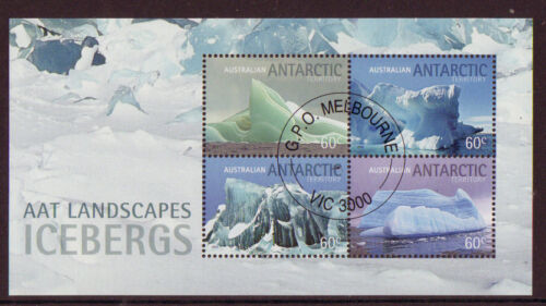 AUSTRALIA ANTARCTIC 2011 SPECIAL OFFER ICEBERGS MINIATURE SHEET CTO in Stamps, Australia, Other | eBay