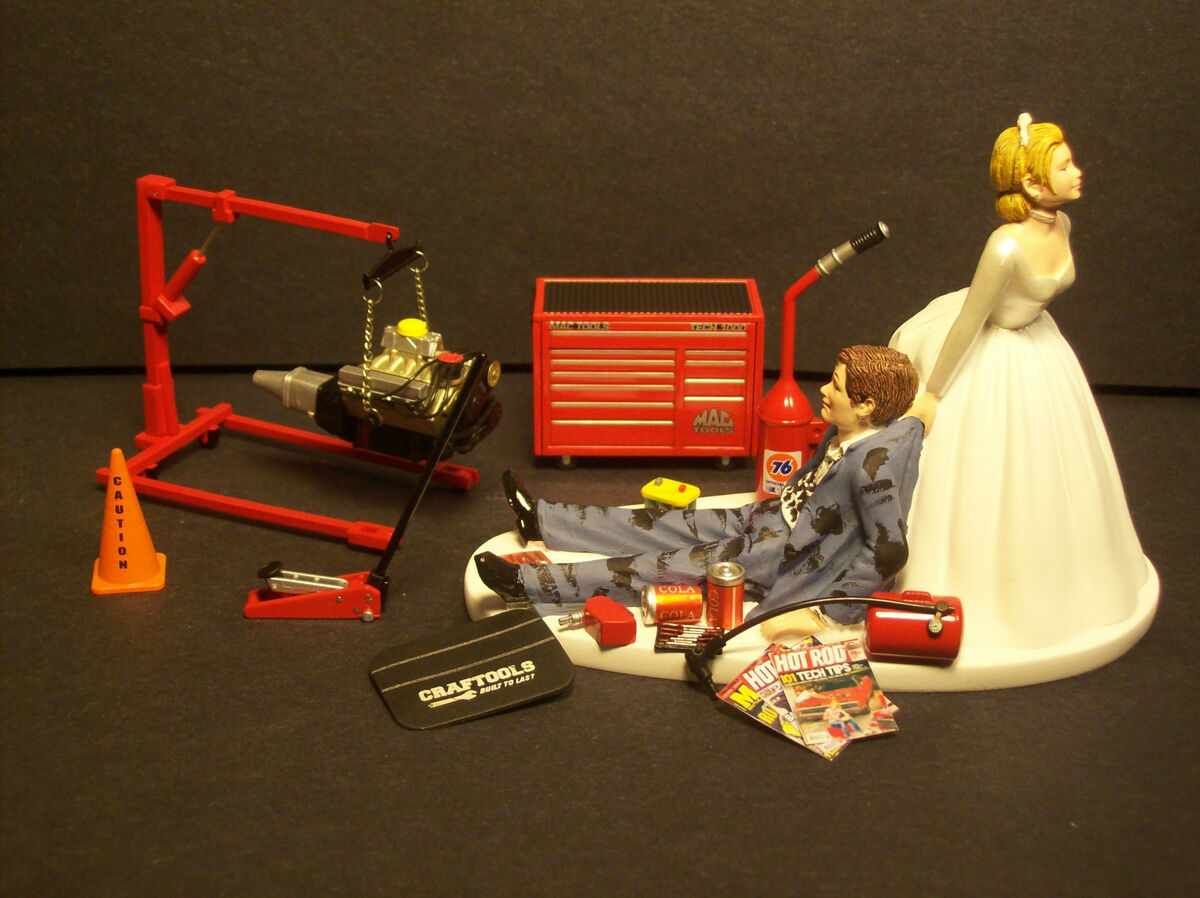 AUTO MECHANIC MAC Tool Set W Engine Stand WEDDING CAKE