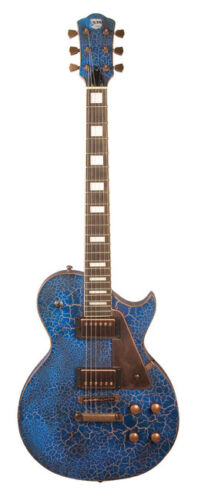 AXL AL-820-CKBL Relic Blue Set Neck Badwater Mahogany Body Electric Guitar 1216 in Musical Instruments & Gear, Guitar, Electric | eBay