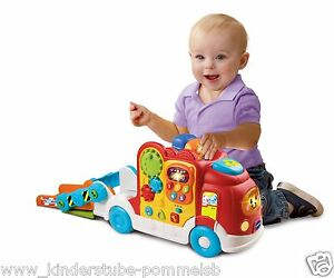 ab 1 jahr vtech tut tut baby flitzer autotransporter mit musik und liedern neu ebay. Black Bedroom Furniture Sets. Home Design Ideas