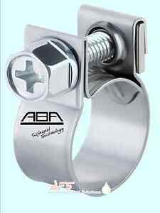 Aba-W4-Edelstahl-Mini-Mutter-Schrauben-Kraftstoff-Schlauch-Klammer-Luft-Wasser