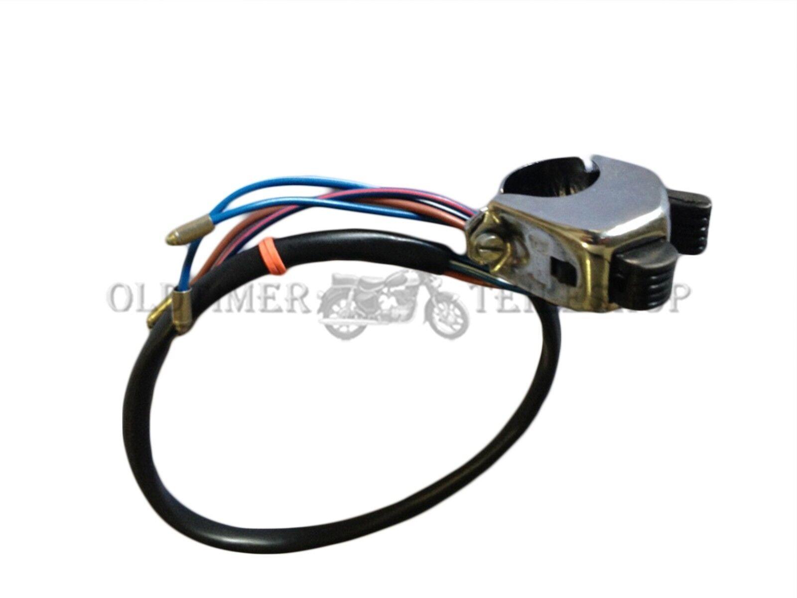 Interruptor luz de cruce peque o con bot n bocina para tcs - Interruptor de cruce ...
