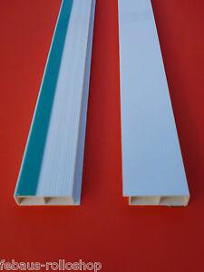 abdeckleisten hohlkammerleisten 2m 20 100mm 7mm kunststoffleisten flachleisten ebay. Black Bedroom Furniture Sets. Home Design Ideas