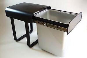 abfallsammler vollauszug einbau 16 liter m lleimer k che m llk bel aladin ebay. Black Bedroom Furniture Sets. Home Design Ideas