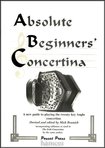 Absolute Beginners Concertina Learn How to Play 20 Key Anglo Tutor Method Book in Musical Instruments & Gear, Accordion & Concertina | eBay