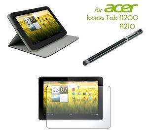 Acer-Iconia-Tab-A200-A210-Ledertasche-Tasche-Schutzhuelle-Case-Cover-Etui-NEU