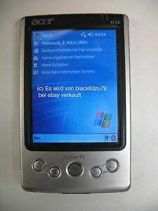 Acer-N30-Poket-PC-PDA-Bluetooth-ohne-Zubehoer-Akku-NEU