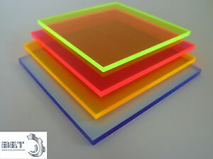 acrylglas plexiglas fluoreszierend 3 mm st rke in blau rot orange und gr n ebay. Black Bedroom Furniture Sets. Home Design Ideas