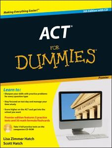 Act for Dummies� by Lisa Zimmer Hatch, M...