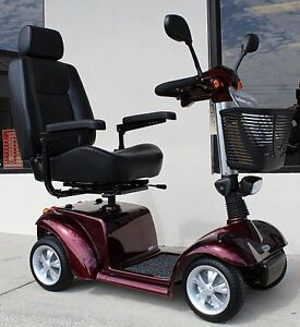 Activecare Mobility Pilot 4 Wheel Seniors Demo Electric Scooter 2410 Ebay