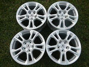 Acura on Acura Honda 17x8 Metallic Silver Tl Odyssey Wheels Rims Oem Factory