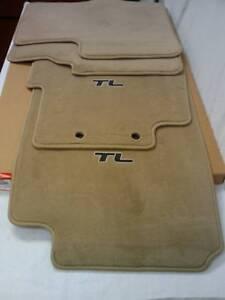 Acura Ivory Floor Mats Complete Ebay Acura Car Gallery