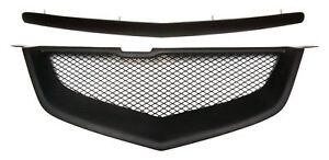 2007 Acura Type on Acura Tl 07 08 2007 2008 Type S Hood Molding Front Bumper Mesh Grill