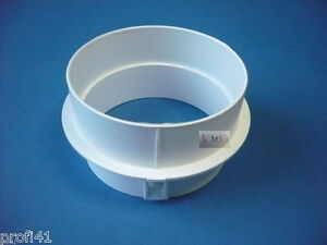 adapter abluftschlauch schlauch abluft f r trockner ablufttrockner miele neu ebay. Black Bedroom Furniture Sets. Home Design Ideas