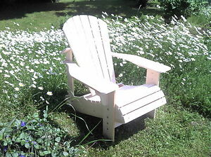 adirondack chair gartenstuhl gartensessel deckchair saunaliege bear chair holz ebay. Black Bedroom Furniture Sets. Home Design Ideas